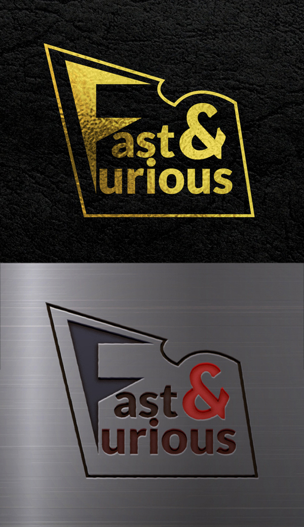 Awesome Logo of Fast and Furious