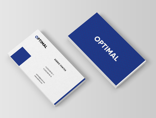 Optimal - Clean Business Card