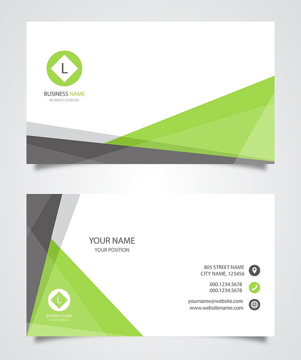 Modern creative hand picked business card templates designs business card template with abstract cheaphphosting Choice Image