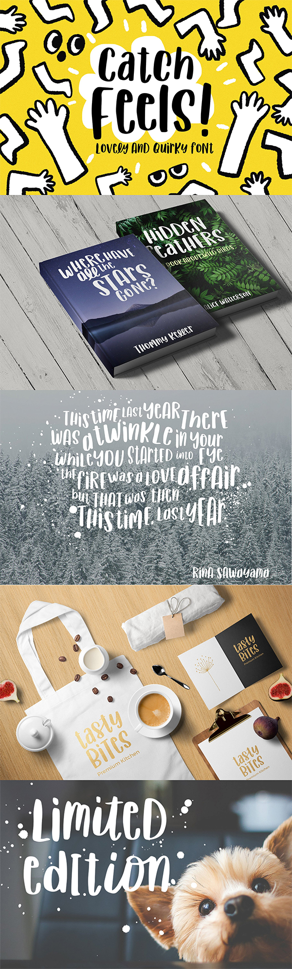 Catch Feels - Lovely and Quirky Free Font