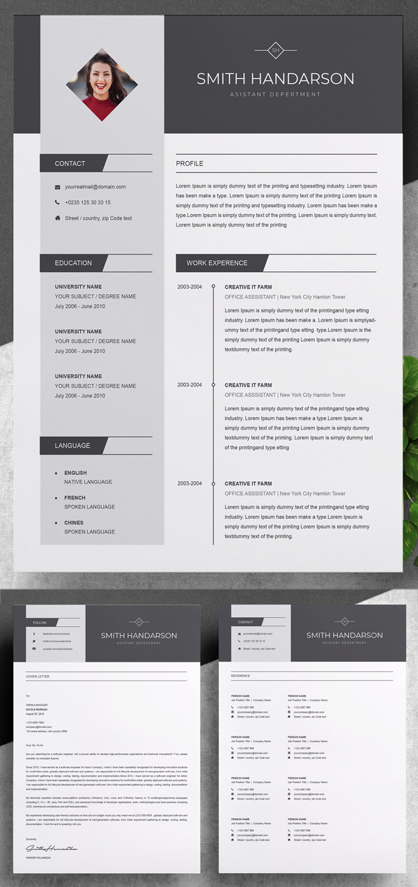 Creative & Stylish Resume Template