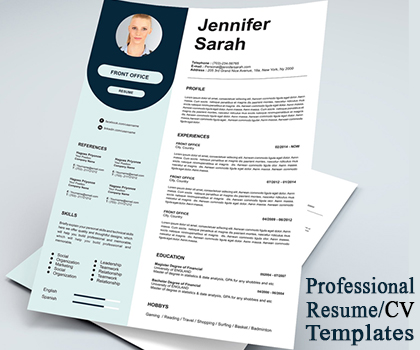Modern & Creative Resume / CV Templates To Get Your Dream Job