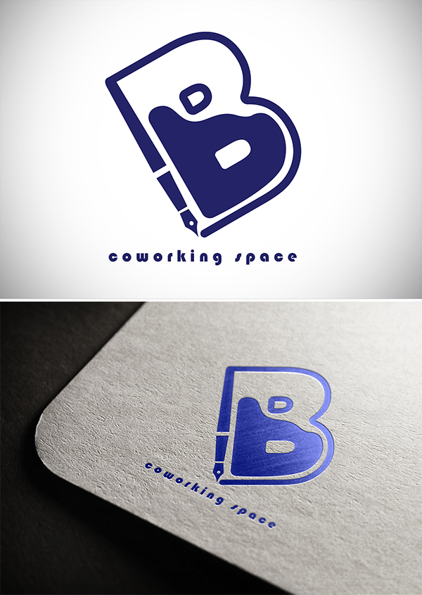 Blue Co - Working Space Logo