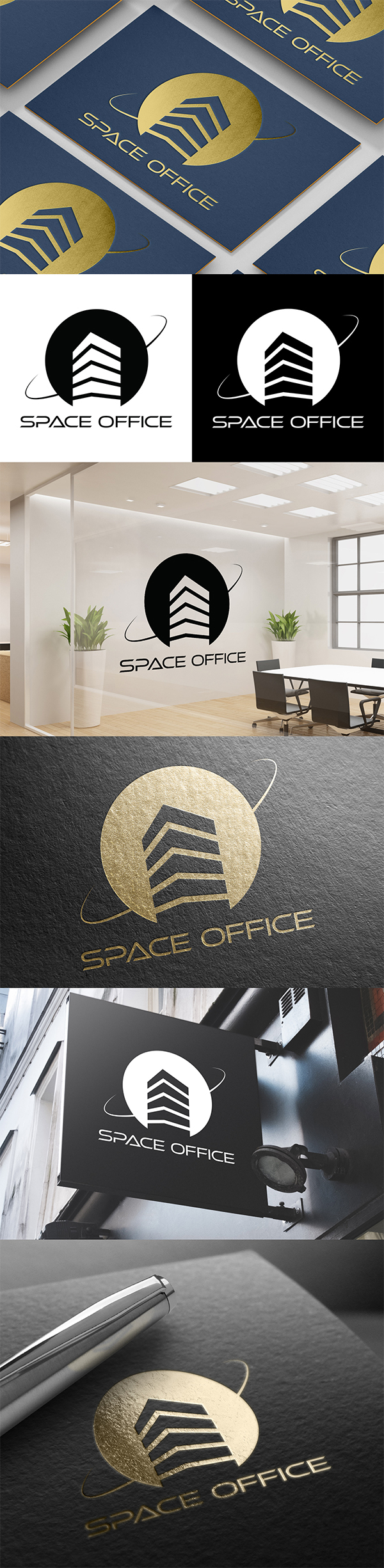 Space Office Logo Design