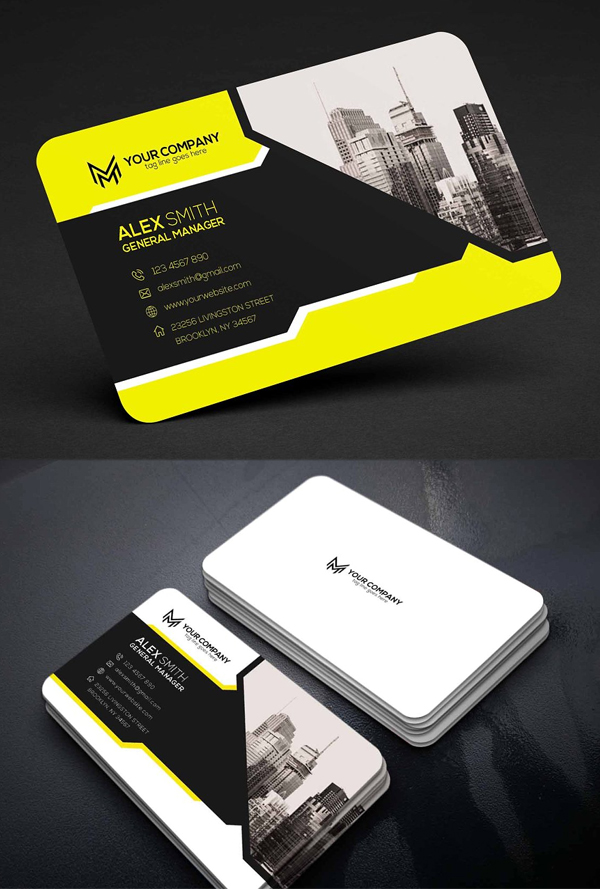 Colorfull Business Card Design