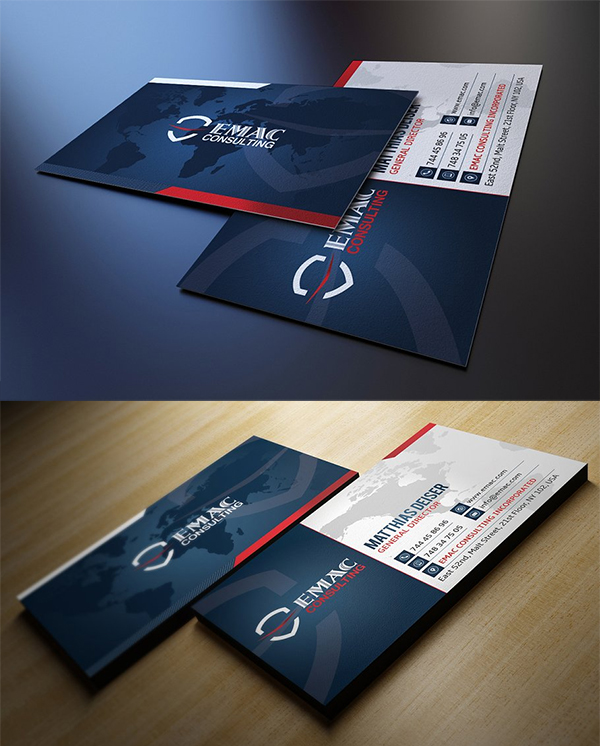 Classy and Clean Business Card Template