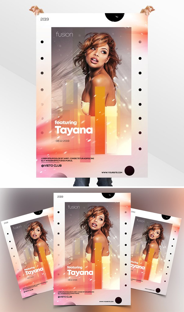 Artist Event - PSD Flyer Template