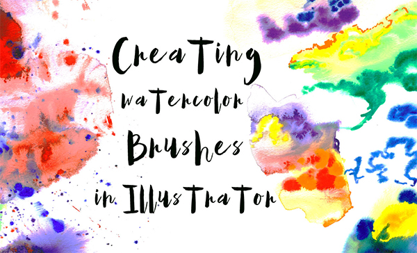 How to Create Watercolor Brushes in AI