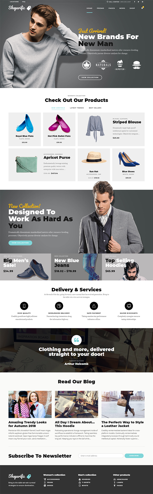 Shoperific - Flexible Online Shop