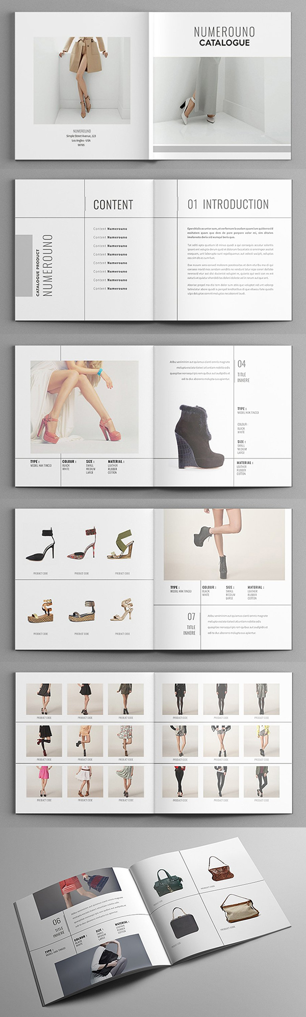Numerouno - Square Fashion Catalogue