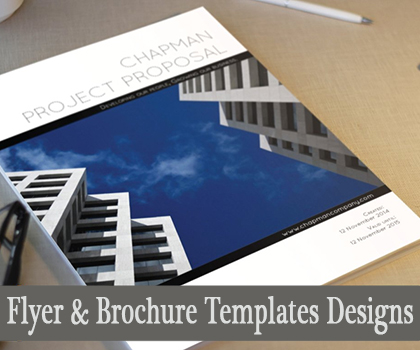 Awesome Business Brochures And Cool Flyer Templates Designs
