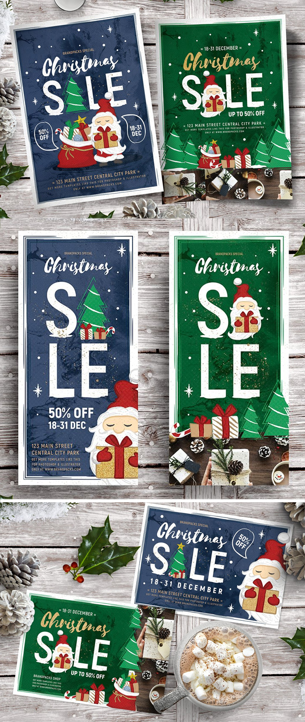 Christmas Sale Flyers / Posters