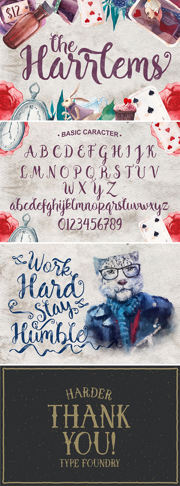 Harrlems Brush Free Font