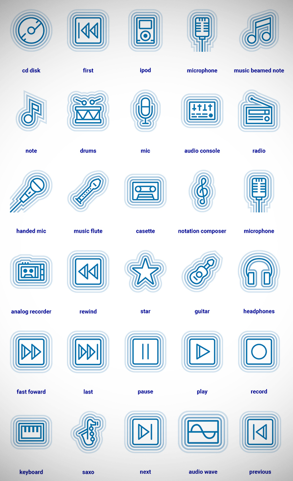 Freebie : Modern & Creative Icon Sets | Free Stuff | Freebies, Free