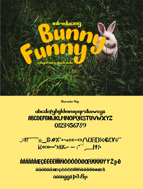 Bunny Funny | Playfull Font
