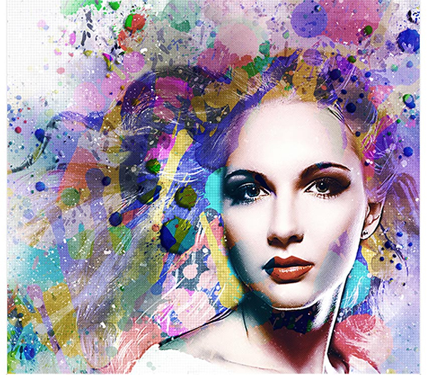 Cool Photoshop Watercolor Effects & Filters With Texture