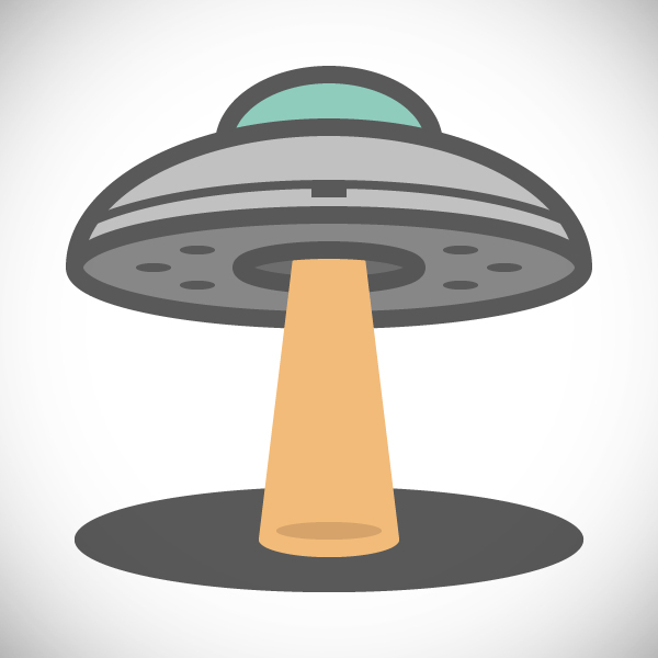 How to Create a UFO Icon – Adobe Illustrator Tutorial