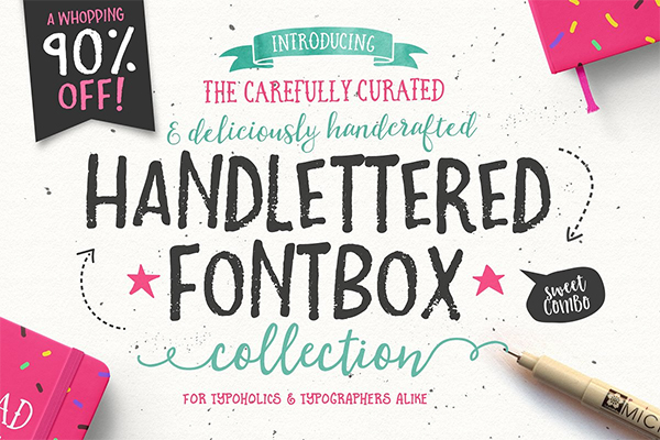 The Handlettered Fontbox