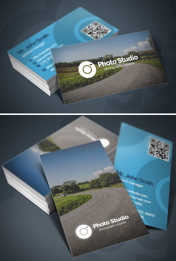 Photo Studio Business Card