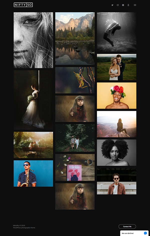 Nifty Fifty - Photography Theme