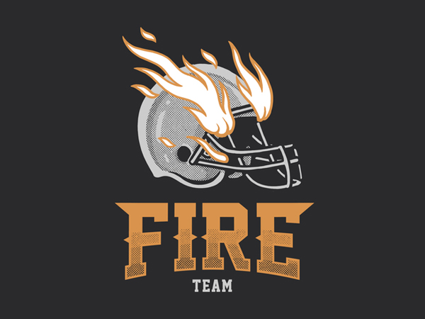 Fire Team Logo Design