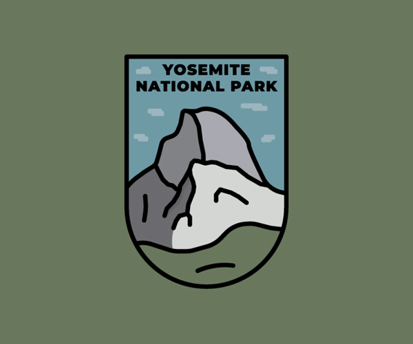 Yosemite National Park Badge