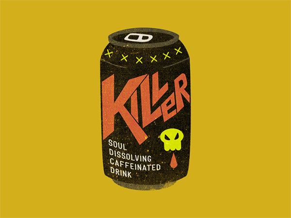 Killer Cola Logo Design