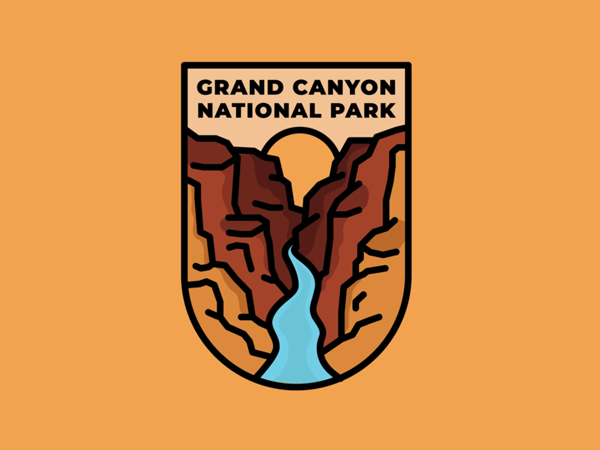 Grand Canyon National Park Emblem