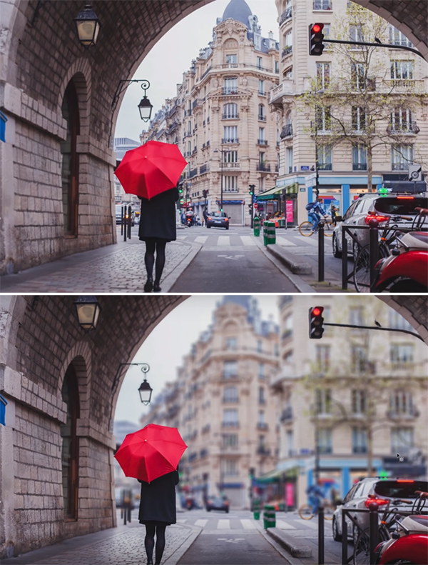 Create Realistic Adjustable Depth of Filed Effects in Your Photo