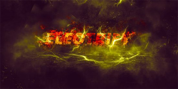 Create Amazing Lightning Text Effect in Photoshop