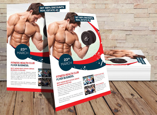 Fitness Gym Health Flyer