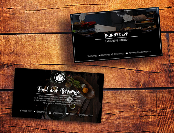 Onion Business Card Templates