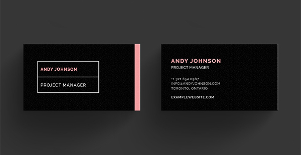 ANDY - Business Card Template