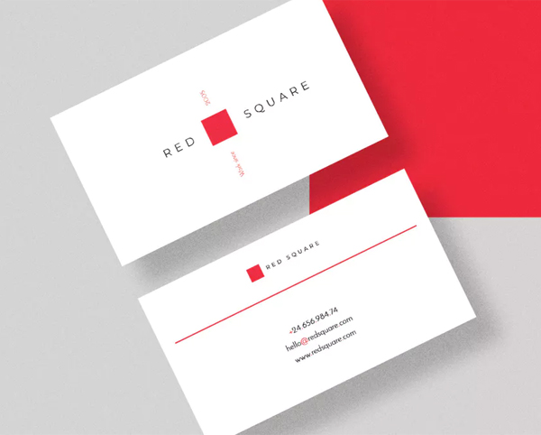 Redsquare Creative Business Card Template