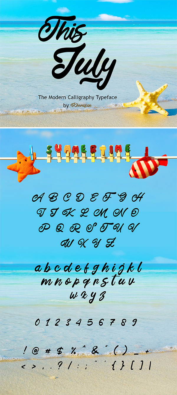 Awesome July Free Font