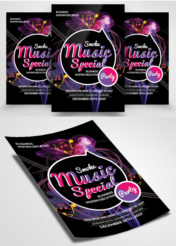 Music Special Night Flyer