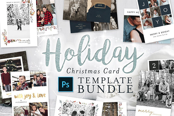 Holiday Christmas Card Bundle