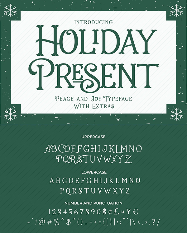 Holiday Present Fonts