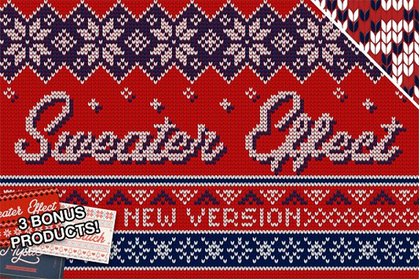 Christmas Sweater Effect