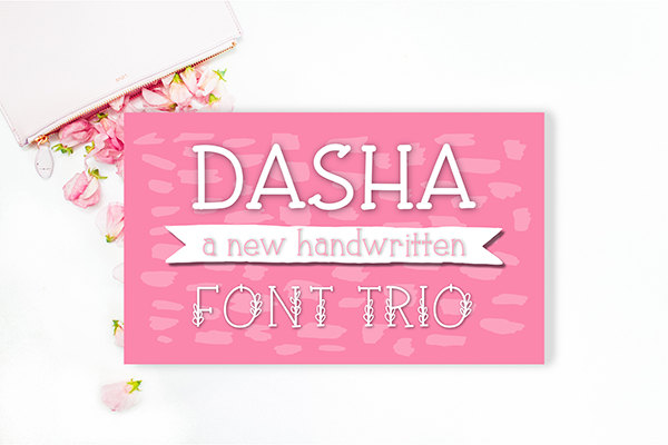Dasha Font Trio By Jande Summer