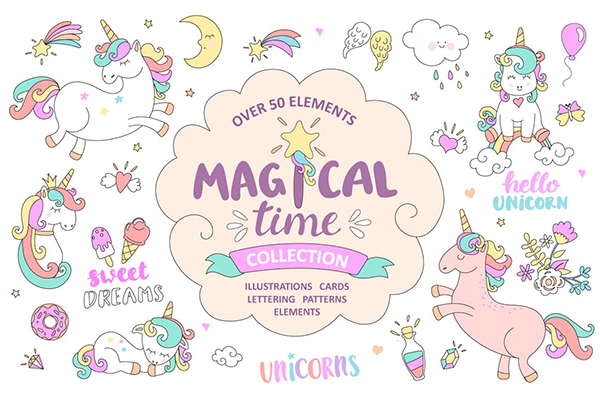 Magical time Unicorns By tanda_V