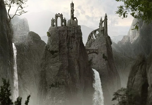 How to Create a Mountainous Matte Painting in Photoshop