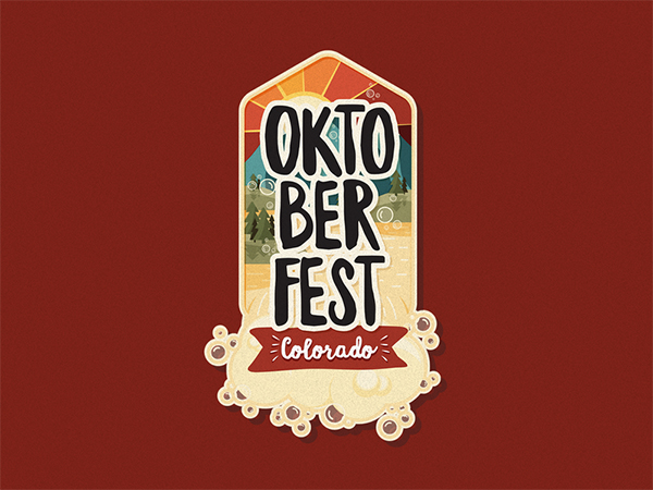 Oktoberfest Badge Logo Design