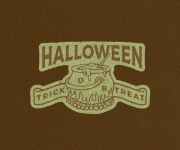 Trick or Treat Badges Logo