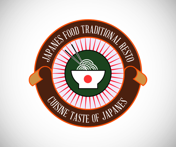 Badges Japanes Food Logo