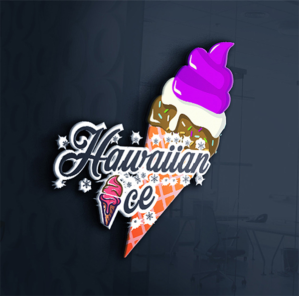 Ice Cream Shop Logo Design