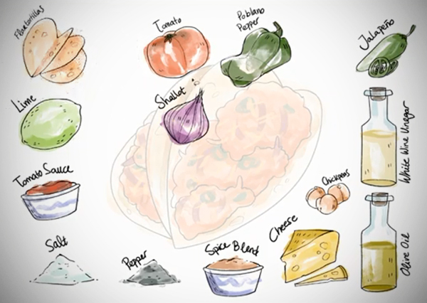 Illustration: Sketch a Watercolor Recipe
