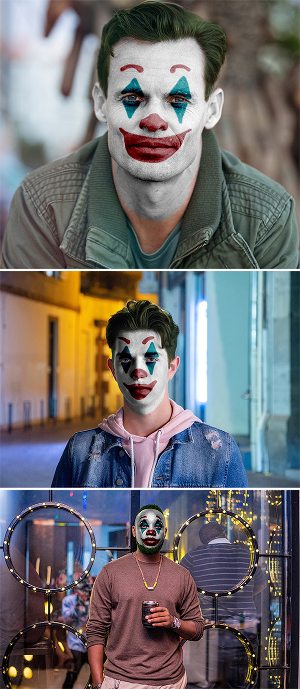Free Download Killer Photoshop Action (Joker Face)