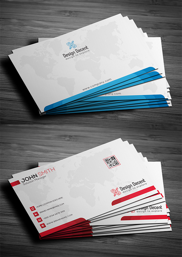 Free Business Card Template