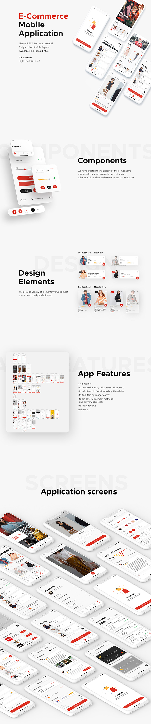 Free | E-Commerce Mobile Application